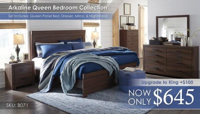 Arkaline Bedroom Set B071-31-36-46-58-56-97-92-Q333