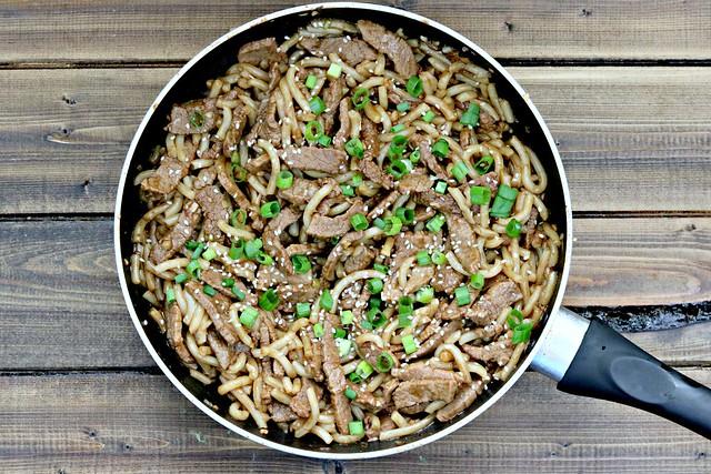 Garlic Beef Noodle Bowl
