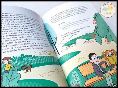 Libro Cómo arreglar un libro mojado. Reseña