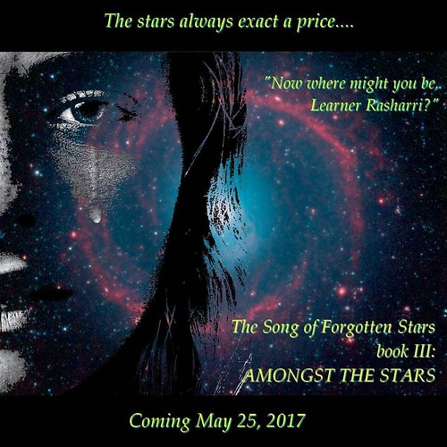 EVEN SOONER! #AmongstTheStars #ForgottenStars #sciencefiction #spaceopera #indiebooks #amwriting
