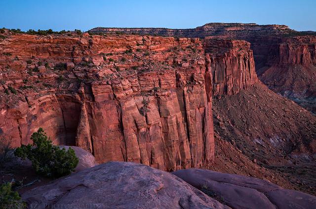 The Orange Cliffs