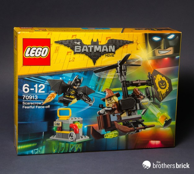 LEGO Batman Movie 70913 Scarecrow Fearful Face-off [Review] | The ...