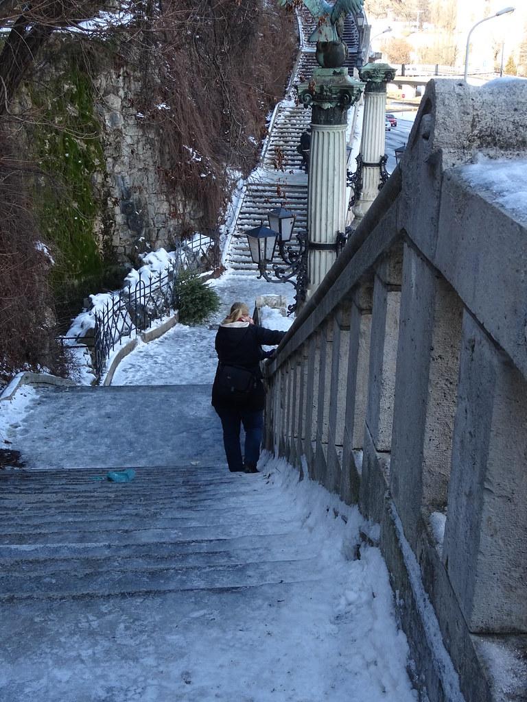 Gellért Hill om vinteren