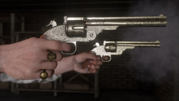 Red Dead Redemption 2 - Revolvers