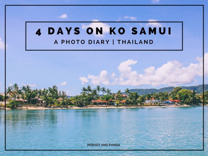 4 Days on Ko Samui, Thailand - A Photo Diary