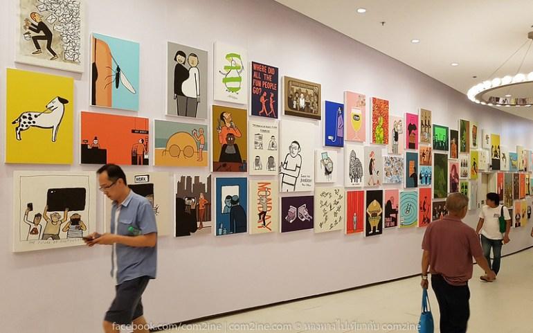 7ฌอง จูเลียง - The People งานศิลป์สนุก สะท้อนยุคโมเดิร์นไลฟ์