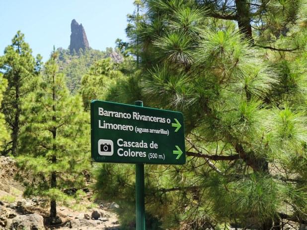 Cascada de Colores La Palma