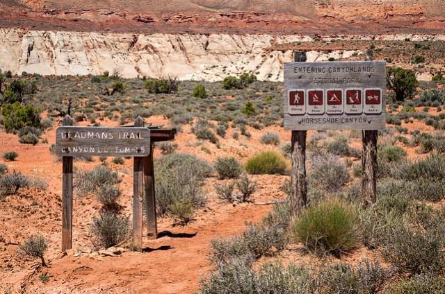 Deadmans Trail Sign