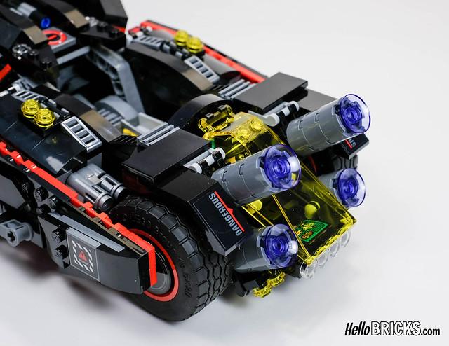 Lego 70917 - The Lego Batman Movie - The Ultimate Batmobile