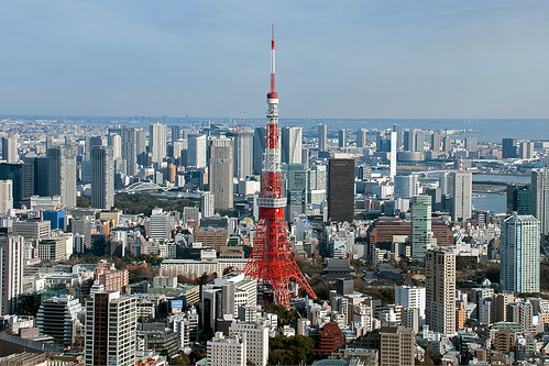 Tokyo Tower, Minato, Tokyo, Japan