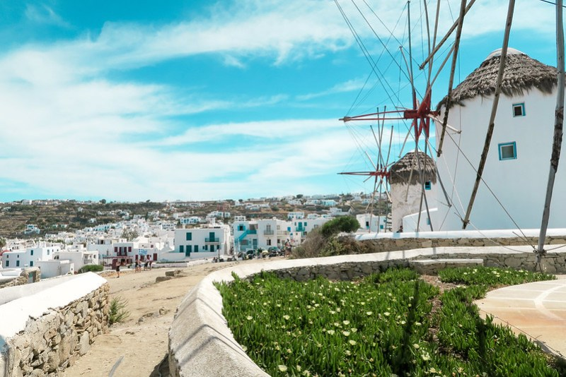 Wanderlust Us Travel Blog - Mykonos Windmills - Little Venice