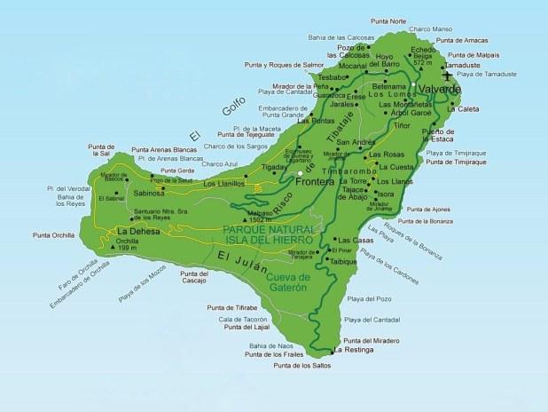 Mapa El Hierro