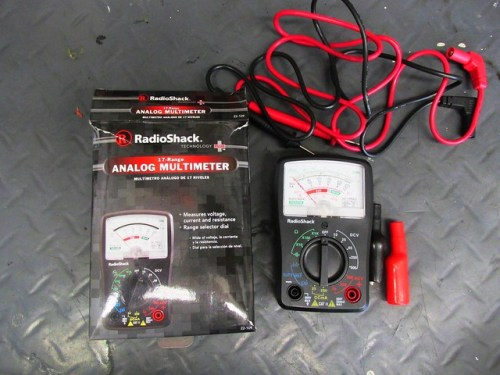 Radio Shack Multi-Meter