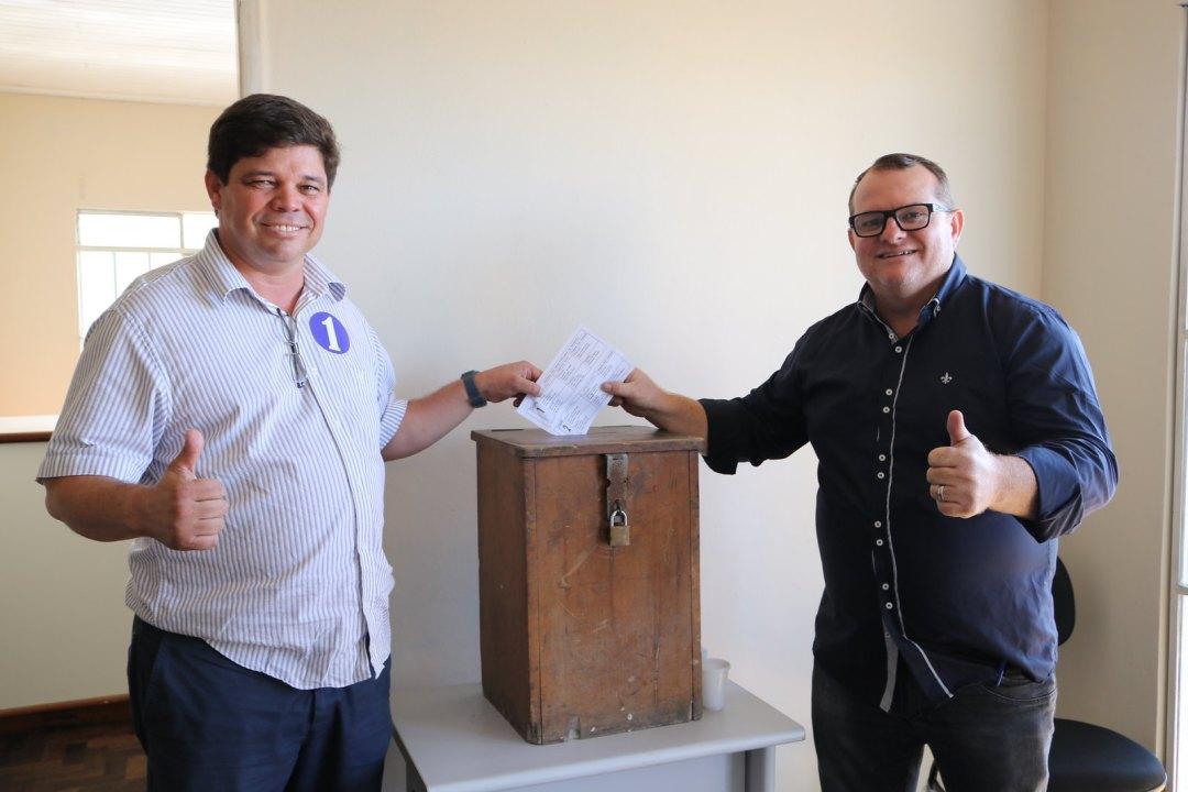Categoria reconhece trabalho e Marcos Ventura é reeleito nos Vigias Portuários 2