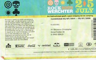 Rock Werchter 09
