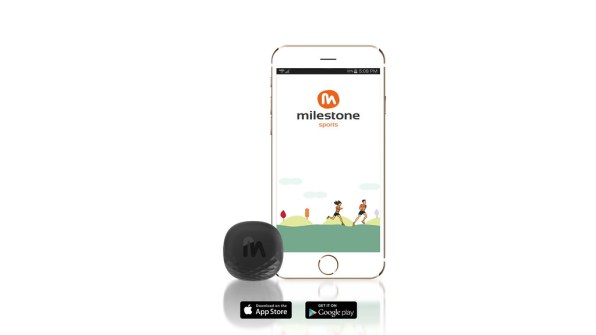 Milestone pod can be synced to your phone to give you all the metrics on your run.