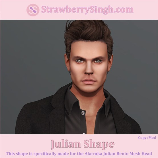 StrawberrySingh.com Julian Shape