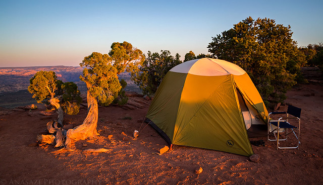 The Neck Campsite