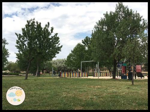 Ir al parque con niños
