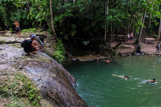 Siquijor Island-Lagaan Falls (2)