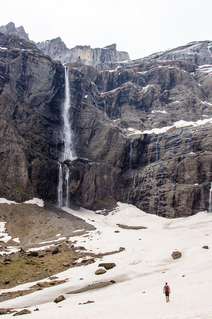Gavarnie Falls in May