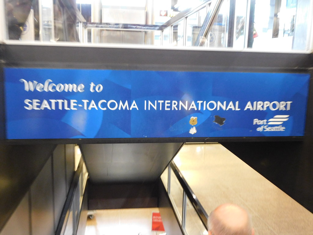 Welcome To Seattle Tacoma International Airport SeaTac
