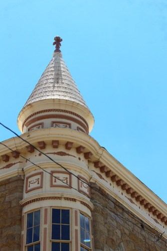 I love the old buildings in downtown Apache.
