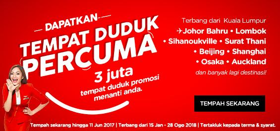 AirAsia Free Seats -BM