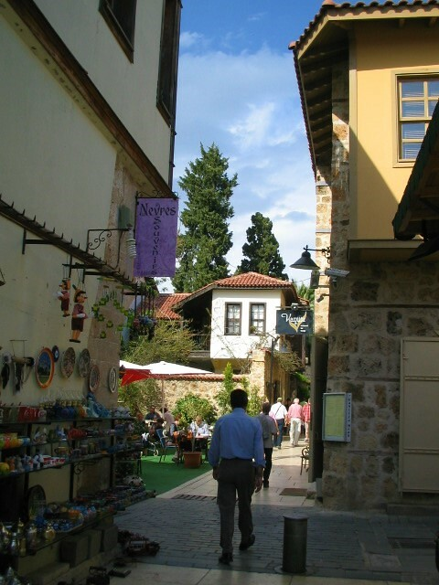The streets of Kaleçi, Antalya