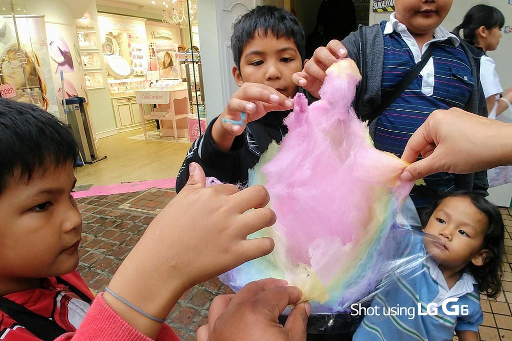 Cotton Candy Fight Harajuku