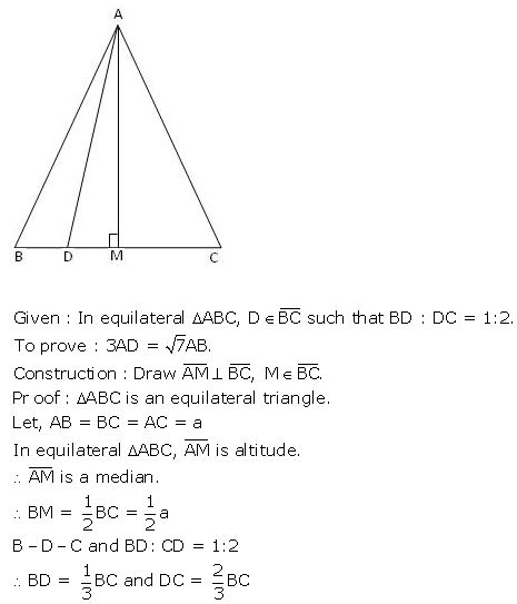 gseb-solutions-for-class-10-mathematics-similarity-and-the-theorem-of-pythagoras-ex(7.2)-5.1