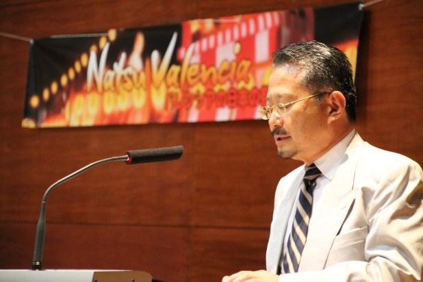 Jornada de Presentación - Cónsul general del Japón, Nahohito Watanabe