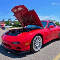 Mazda FD RX-7 with a dirty little secret at the CF Charities Supercar Show