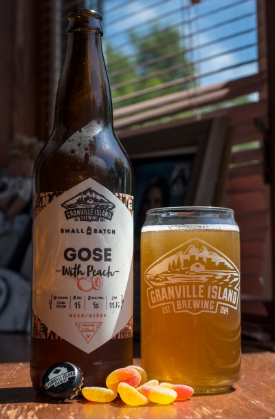Review: Granville Island Gose with Peach (Small Batch ...