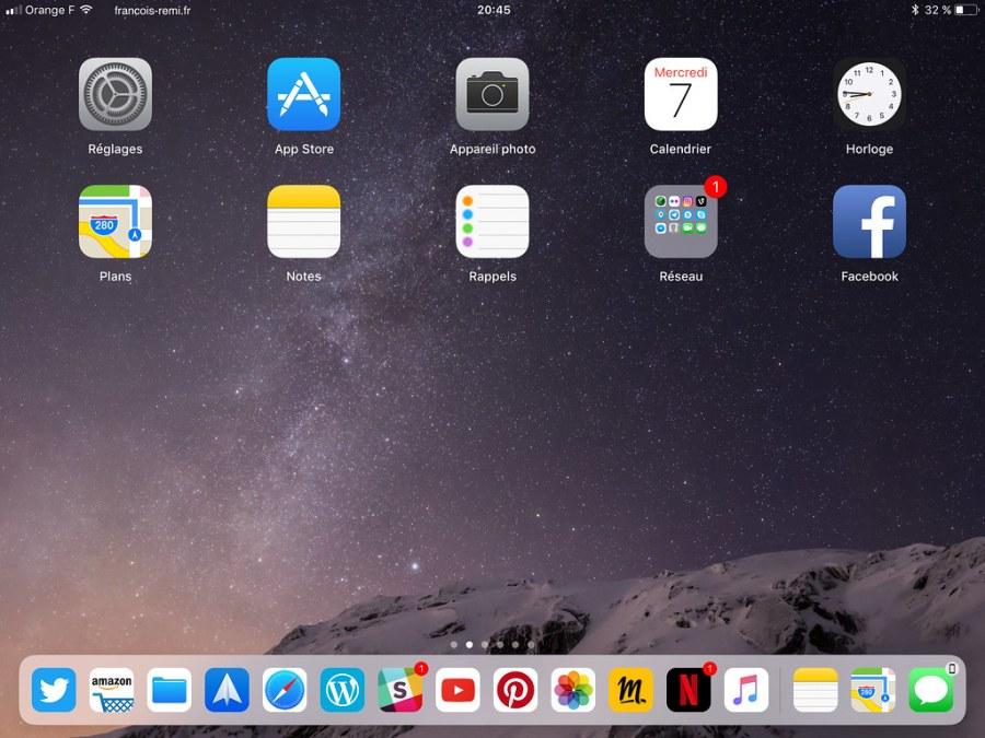 2_dock iOS 11 iPad