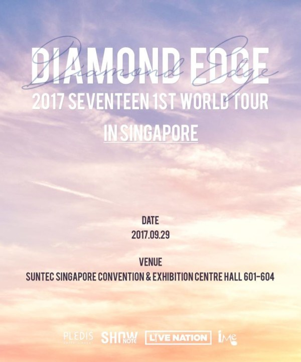 SEVENTEEN 1st World Tour in Singapore