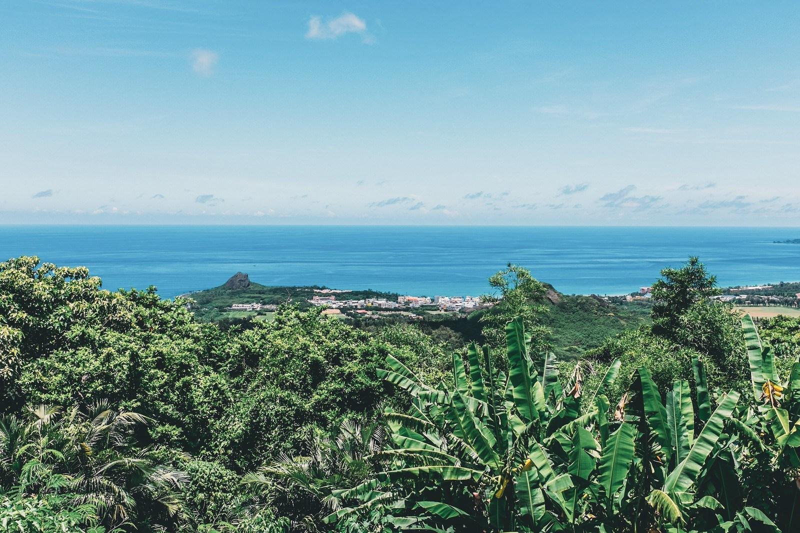 Vista del Pacífico desde Kenting