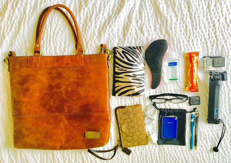 Bag Essentials for Walking Tour