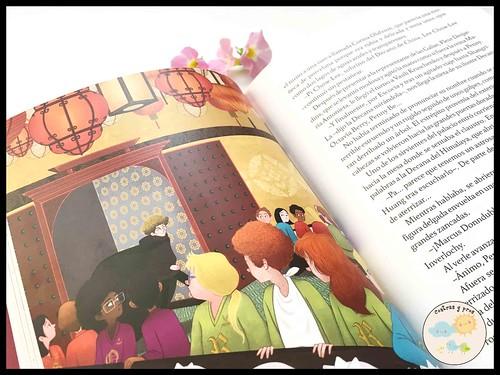 Libro Penny Berry y el árbol de oro de Shangri-La. Reseña