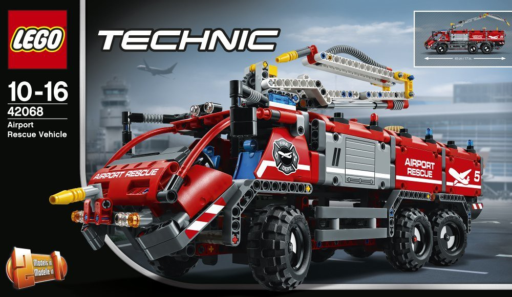 LEGO Technic 42068   Airport Rescue Vehicle   Release  Augus      Flickr     LEGO Technic 42068   Airport Rescue Vehicle   by THE BRICK TIME Team