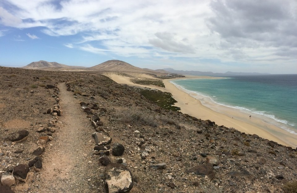 Playas en Sotavento Isla de Fuerteventura 06