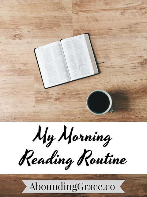 Morning Reading Routine