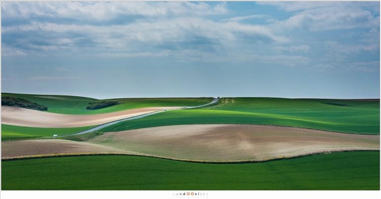 Het golvende landschap van Opaalkust (Fujifilm GFX + GF120mm   ISO100   f/8   t=1/750sec)