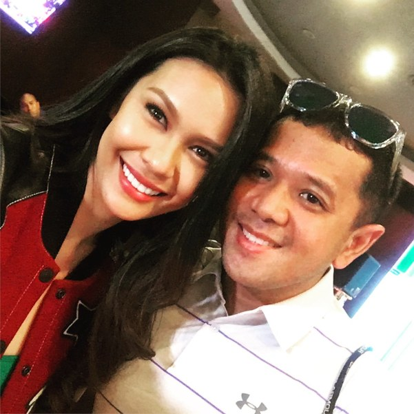 Nice seeing you again Angelia, The last time I met her in an Under Armour event was before her crowning of Ms. Earth.