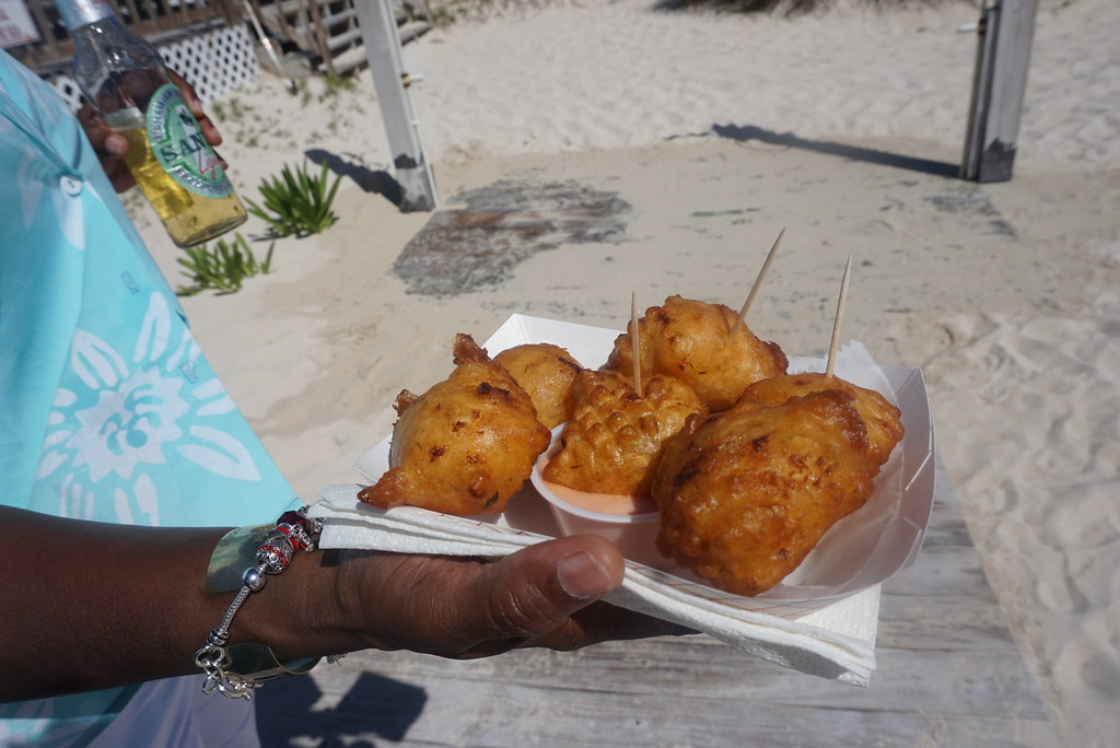 grand bahama island conch fritters