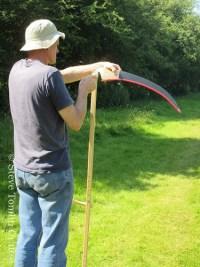 scythe course Cumbria