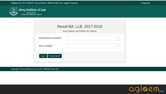LET 2018 | Army Institute of Law (AIL) Law Entrance Test (LET) 2018  %Post Title | AglaSem