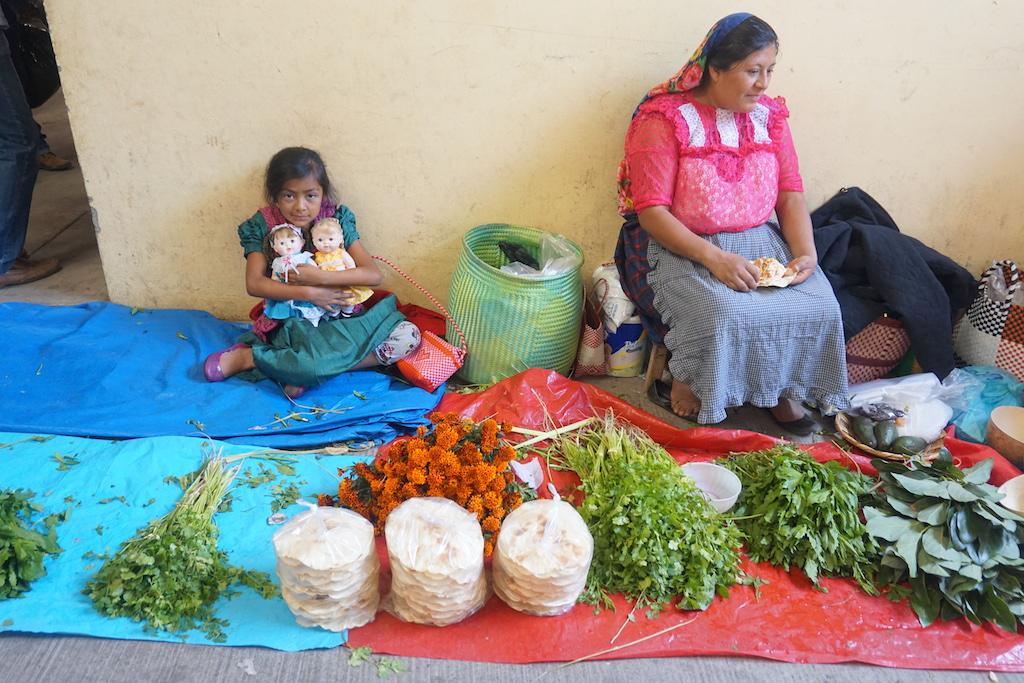 oaxaca market girl