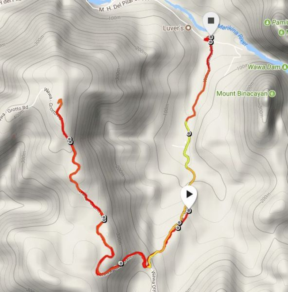 Map Powered by Suunto Spartan Sports WHR