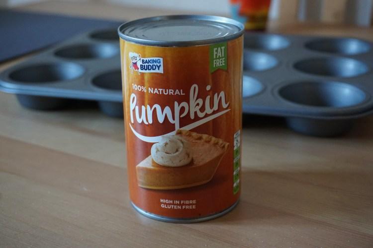 Canned pumpkin | for gluten free pumpkin blueberry muffins recipe